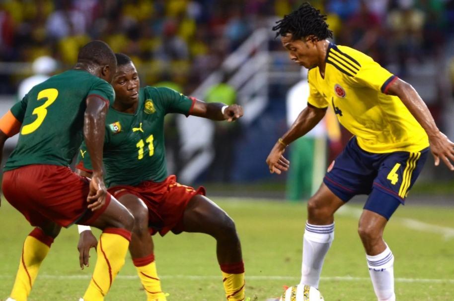 Colombia vs. Camerún