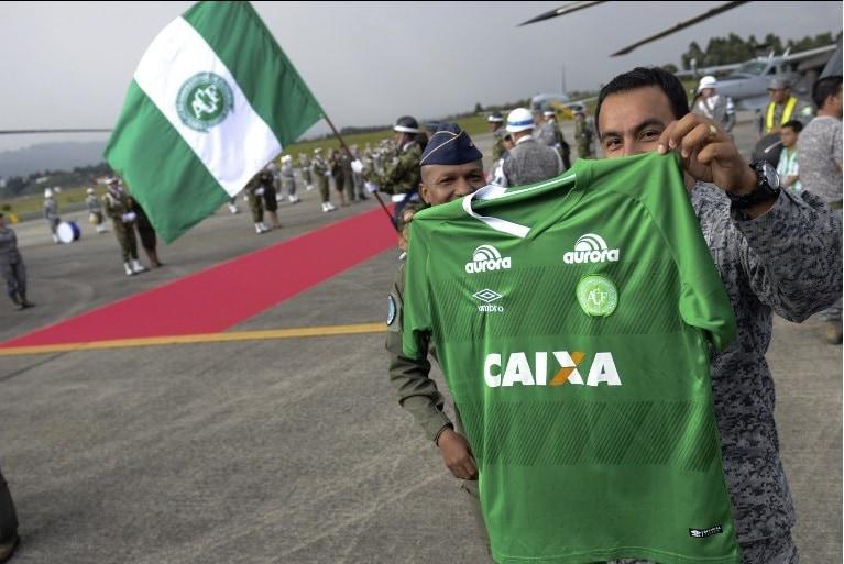 Regreso de Chapecoense a Colombia