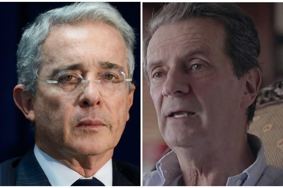 Álvaro Uribe Vélez y Fernando Londoño