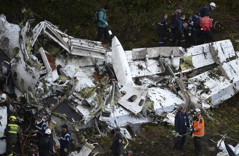 Delincuentes hurtaron objetos del lugar del cerro Chapecoense