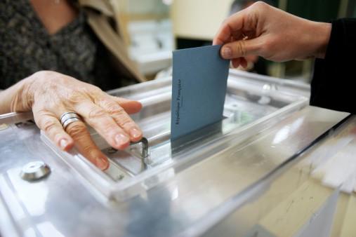 Votación en Francia
