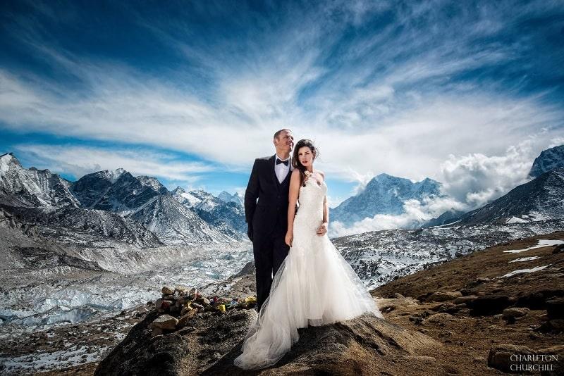 Matrimonio en Monte Everest