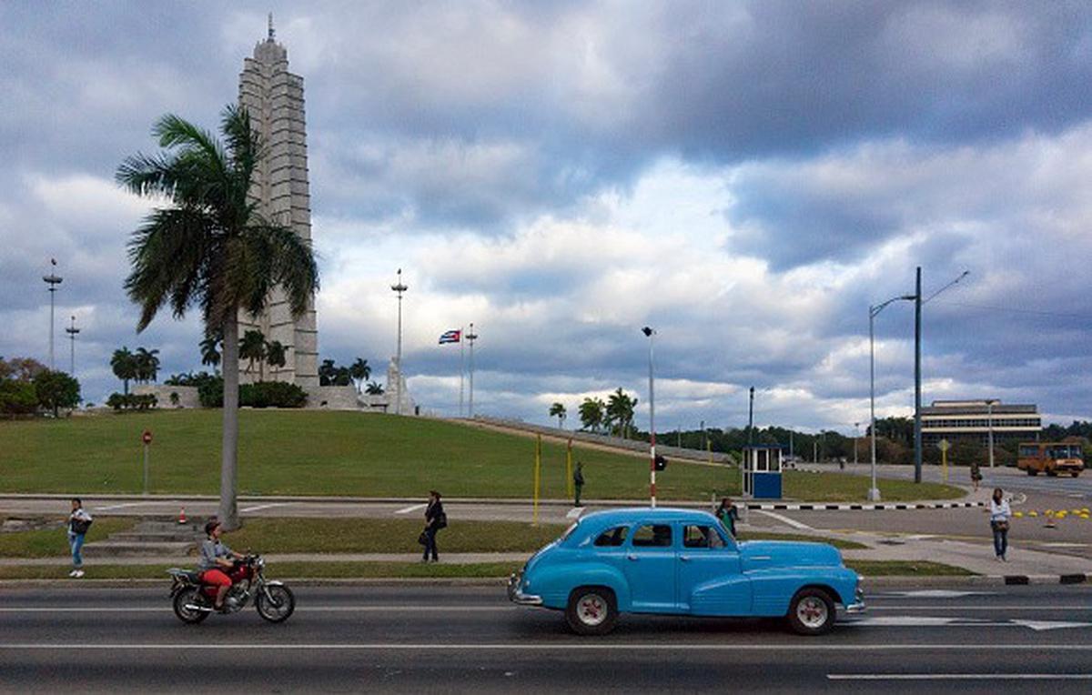 Plaza de la Revolución, en La Habana