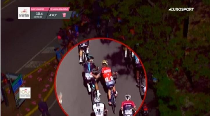 Agresión en el Giro