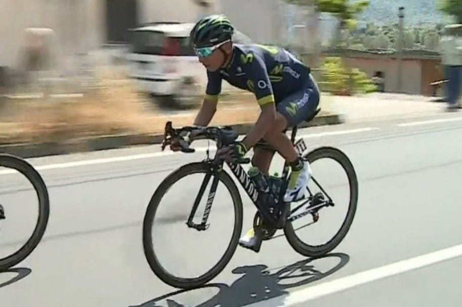 Nairo en la etapa 5 del Giro
