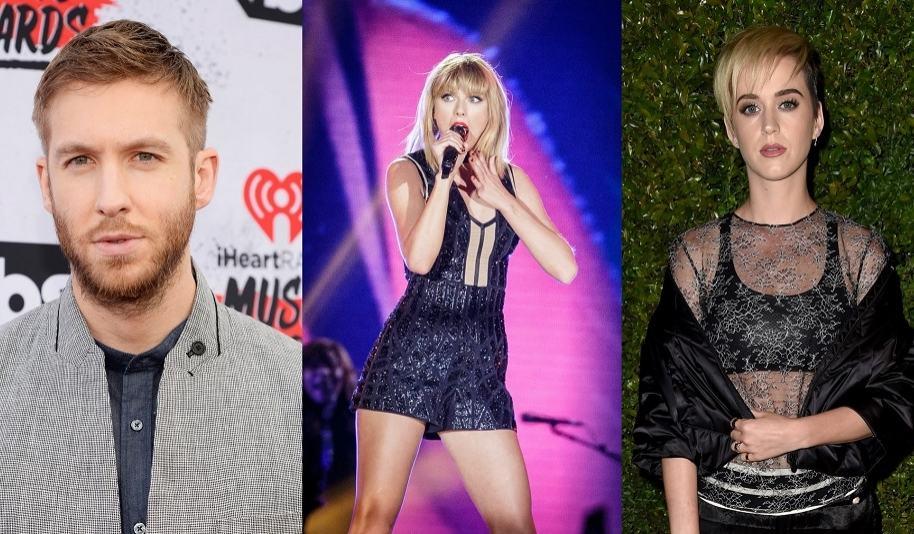 Calvis Harris, Taylor Swift  y Katy Perry - Pulzo.com