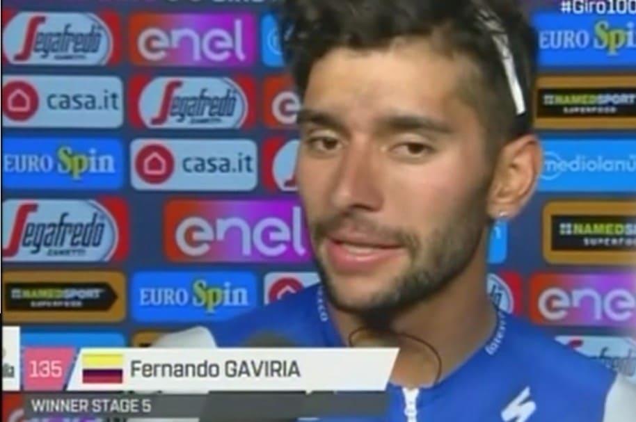 Declaraciones de Fernando Gaviria