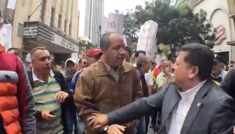 Protestas de taxistas