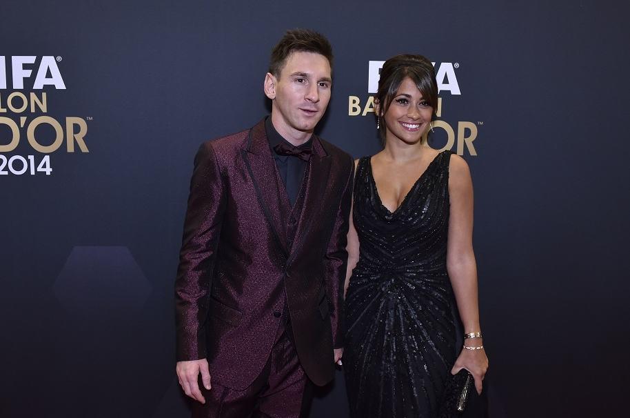 Leonel Messi y Antonella Roccuzzo - Pulzo.com