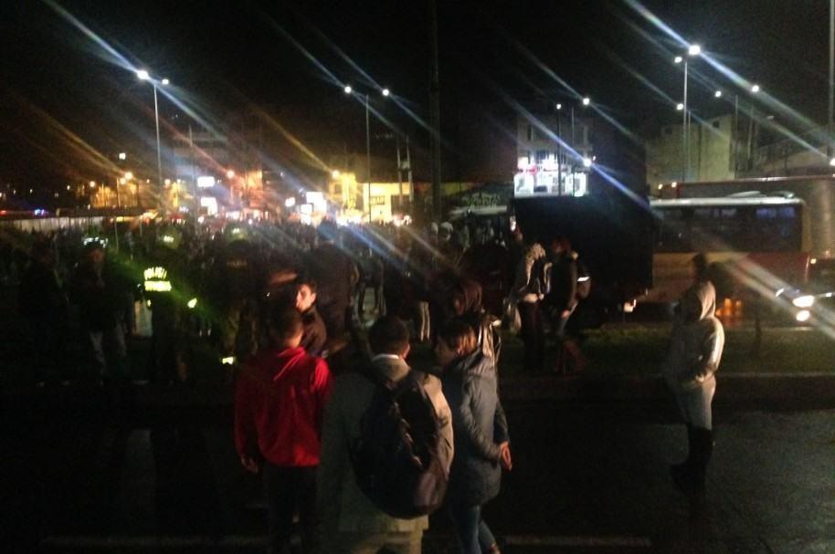 Bloqueos en TransMilenio