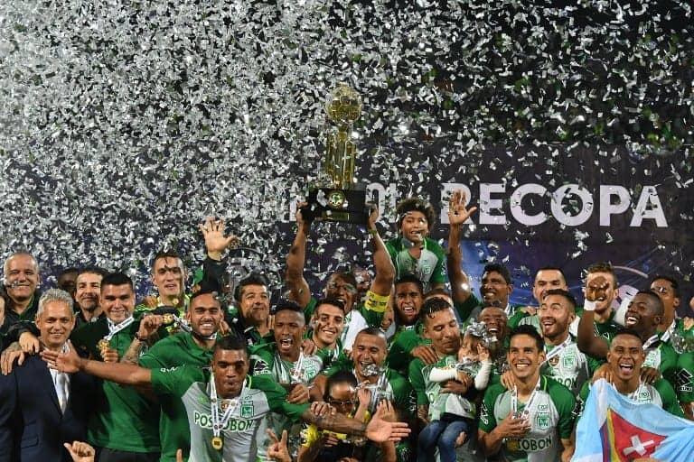 Nacional, campeón de la Recopa Sudamericana