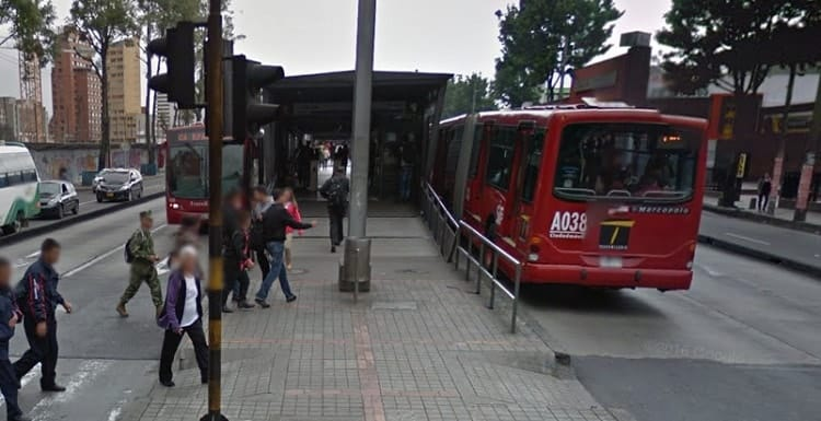 Estación de Transmilenio Calle 26