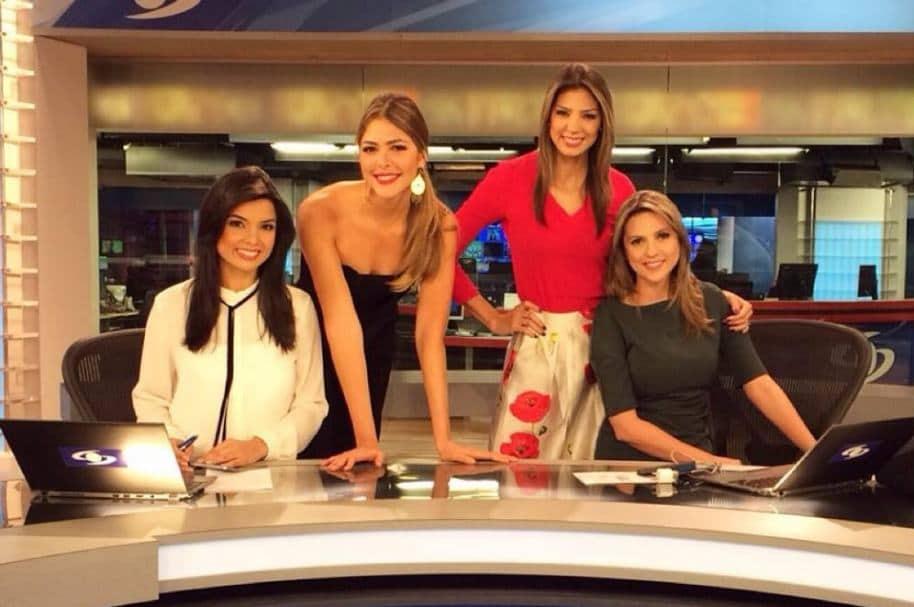 Jennifer Montoya, Viviana Dávila, Ana María Navarrete y Catalina Gómez, presentadoras de Noticias Caracol.