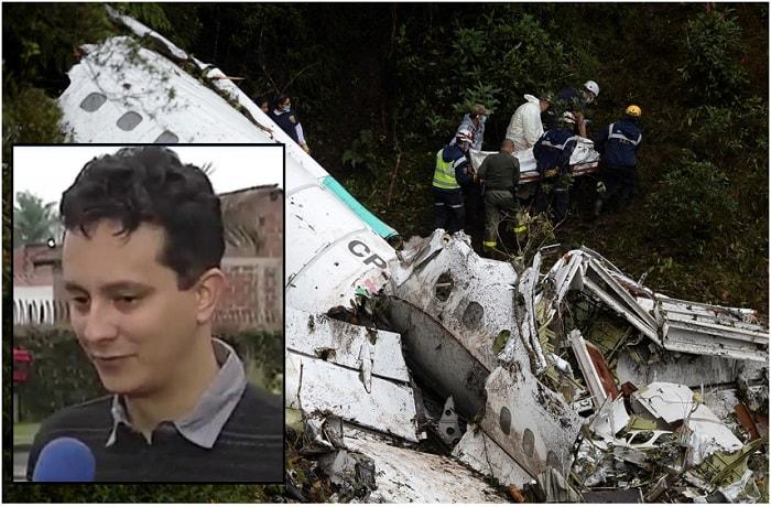 Jorge Cárdenas y Accidente del Chapecoense