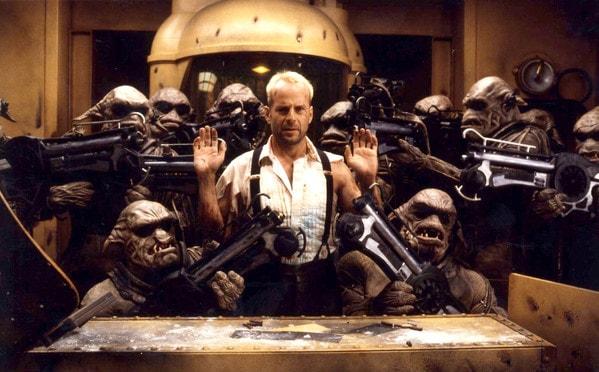 Bruce Willis en 'El quinto elemento'
