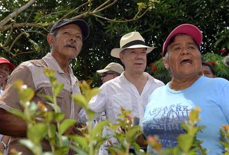 Santos en Uribe (Meta)