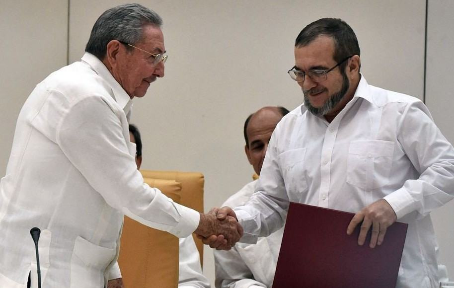 Raúl Castro y Timoleón Jiménez