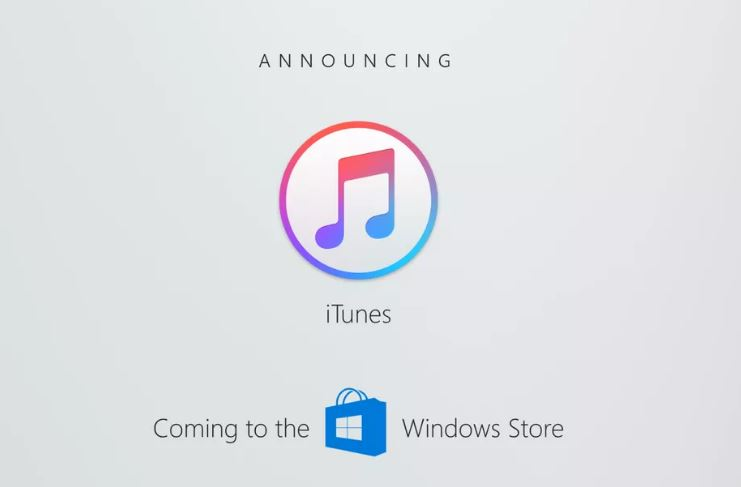 iTunes a Windows Store
