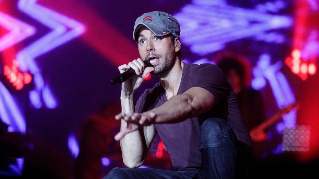 Enrique Iglesias, cantante.