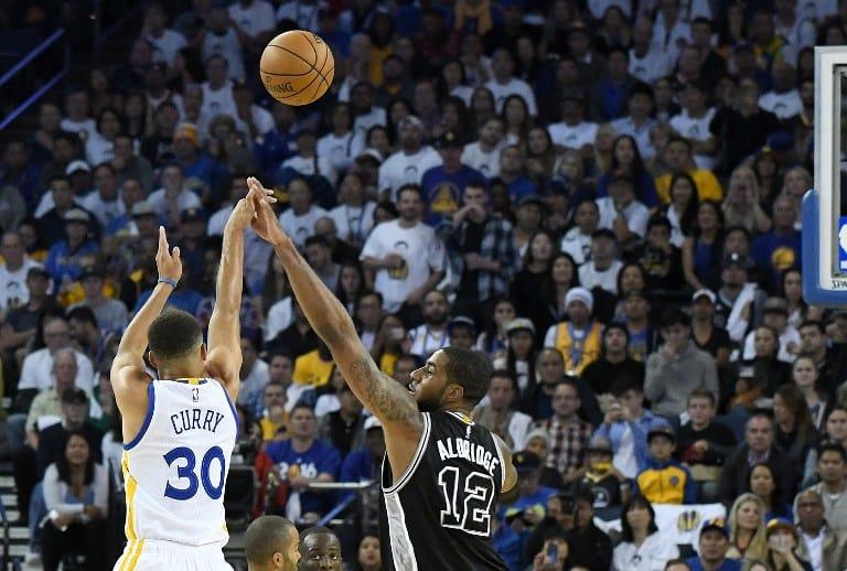 San Antonio Spurs y Golden State Warriors