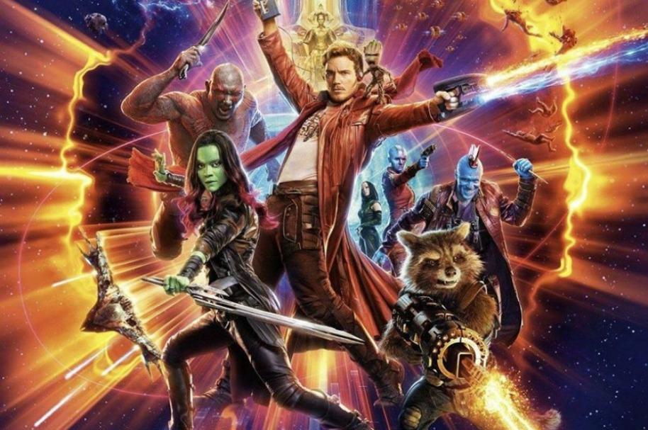 Afiche 'Guardianes de la Galaxia 2'