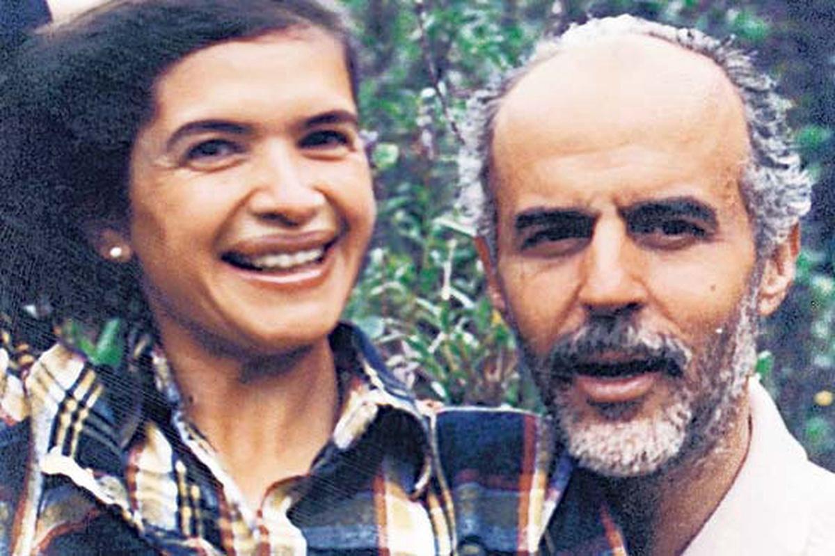 Mario Calderón y Elsa Alvarado
