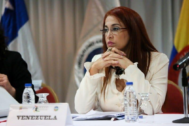 Antonieta Caporale, exministra de salud de Venezuela