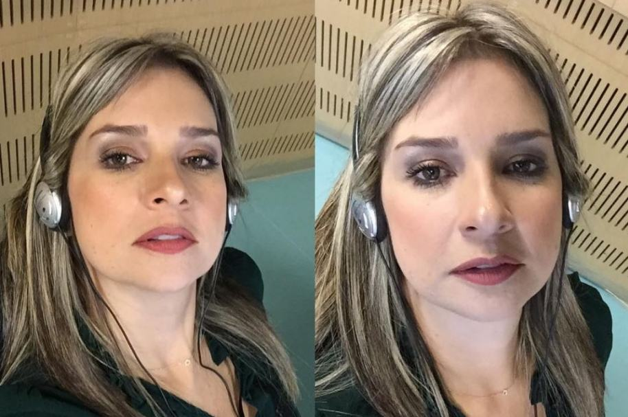 Vicky Dávila, presentadora.