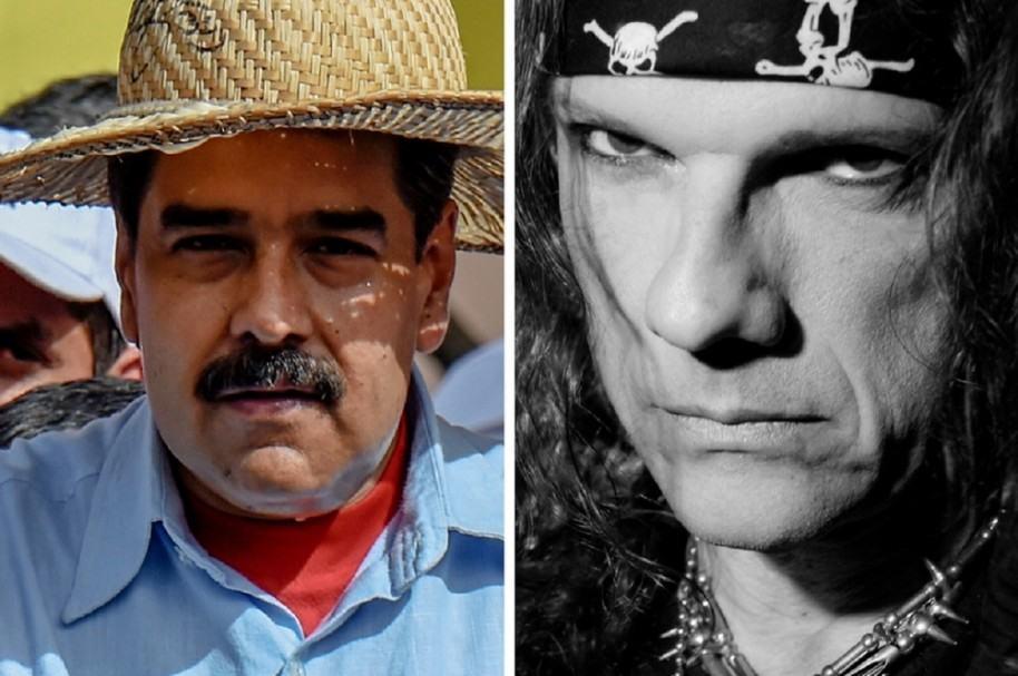 Nicolás Maduro y Paul Gillman