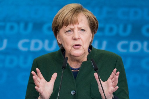 Angela Merkel, canciller alemana.