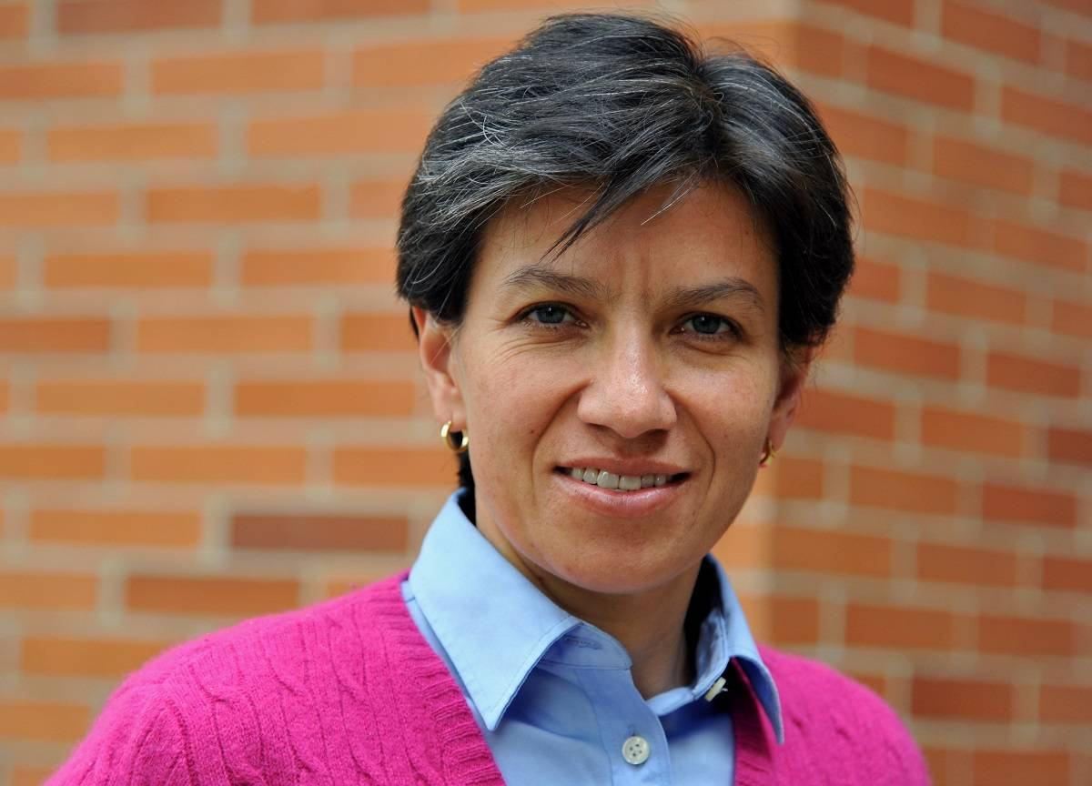 Claudia López, senadora.