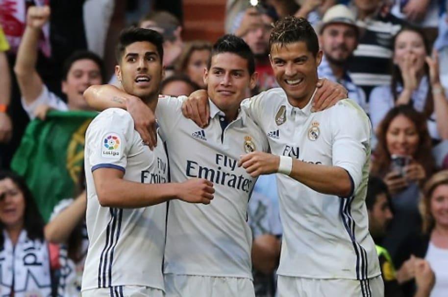 Asensio, James y Ronaldo