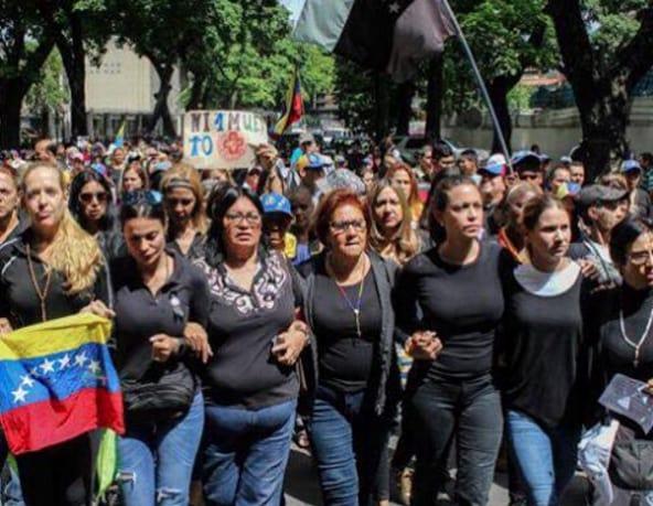 Protestas en Venezuela Día de la Madre