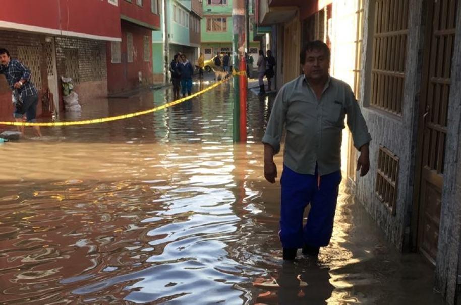 Inundaciones en Bogotá