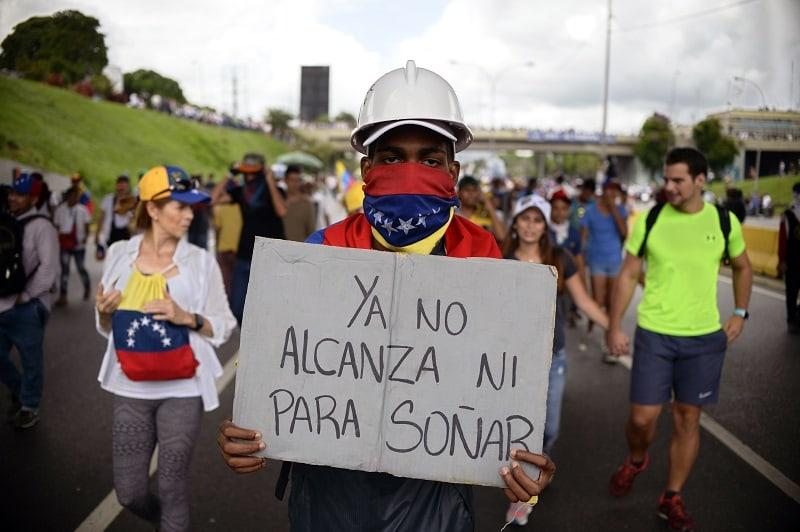 Opositores venezolanos