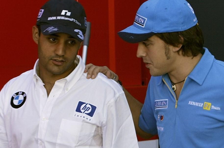 Montoya y Alonso en Fórmula 1