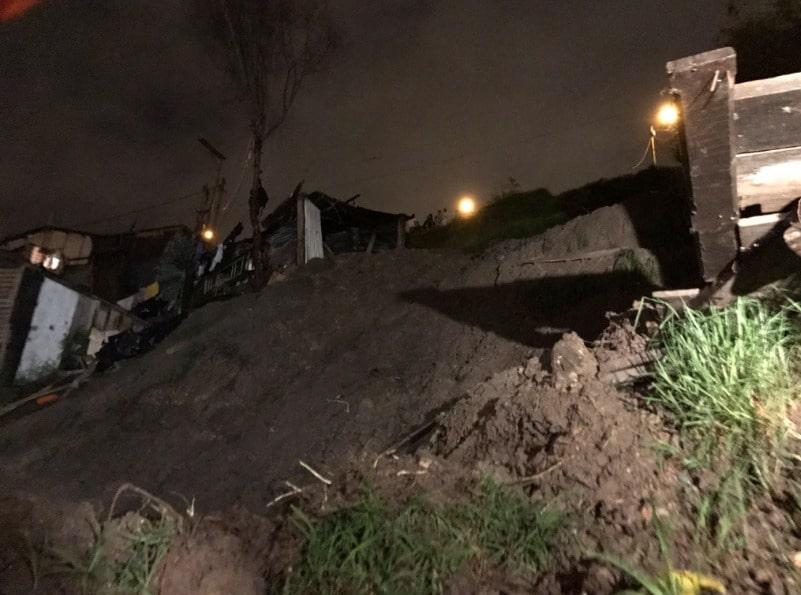 Deslizamiento de tierra en Soacha