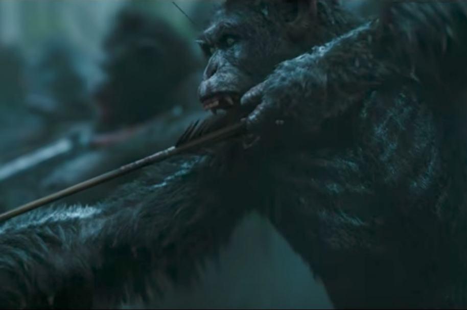 Tráiler 'La guerra de los simios: la guerra'.