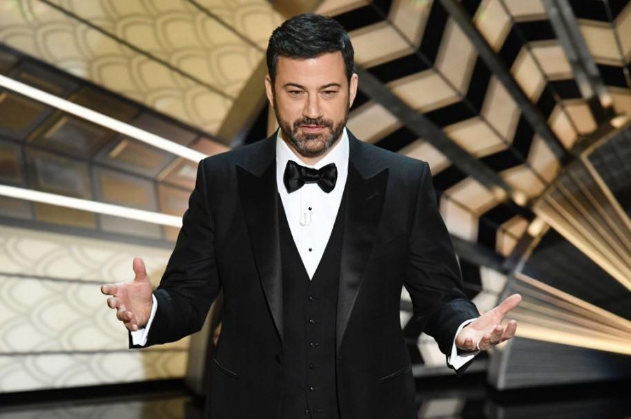 Jimmy Kimmel durante la entrega 89 de los Premios Óscar.
