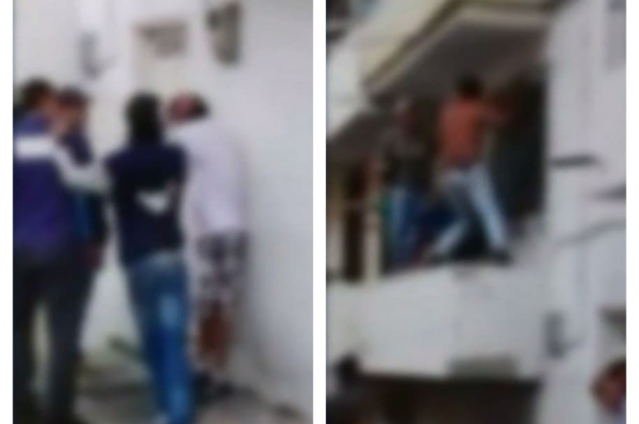 Golpiza a dos presuntos ladrones en Medellín. Pulzo.com