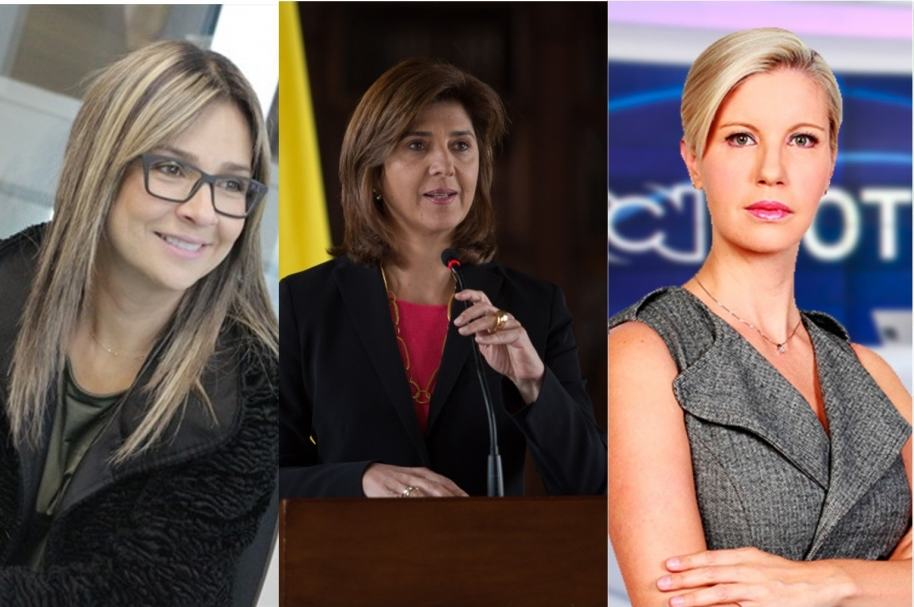 Vicky, Canciller y Claudia Gurisatti