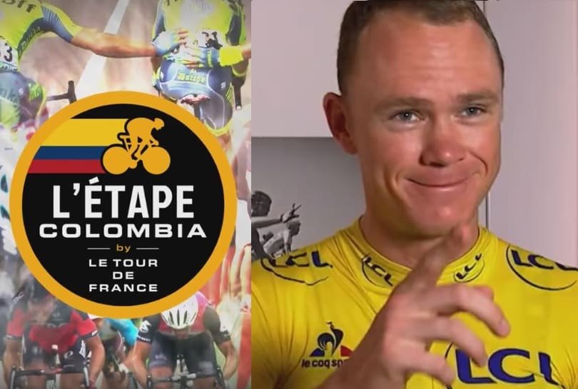 Chris Froome invita a L'etape Colombia