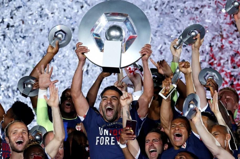 Falcao, campeón con Mónaco