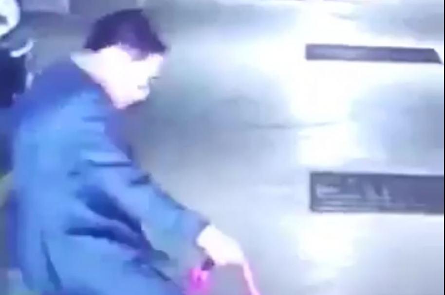Hombre golpea a perra en Bogotá