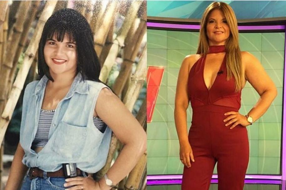 Diva Jessurum, presentadora de Noticias Caracol.