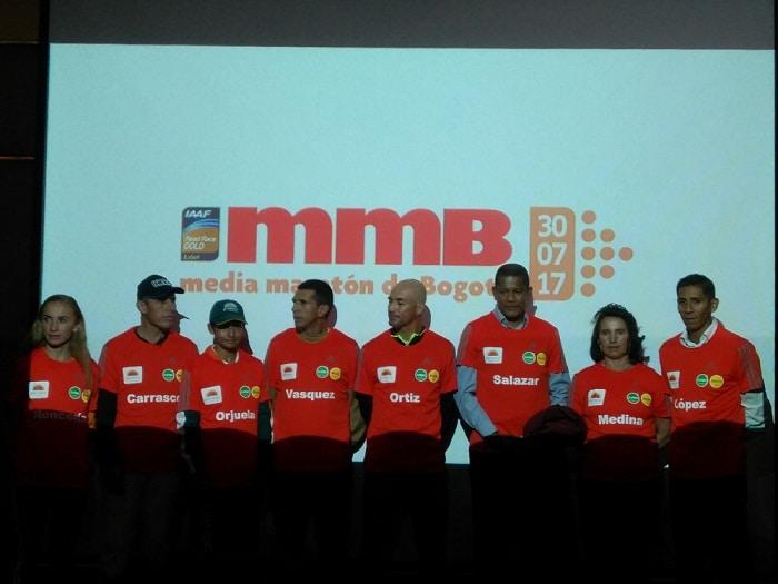 Atletas colombianos
