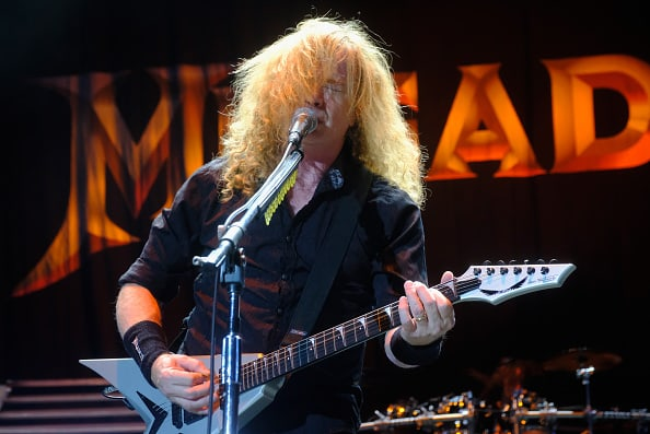 Dave Mustaine, de Megadeth. Pulzo.com
