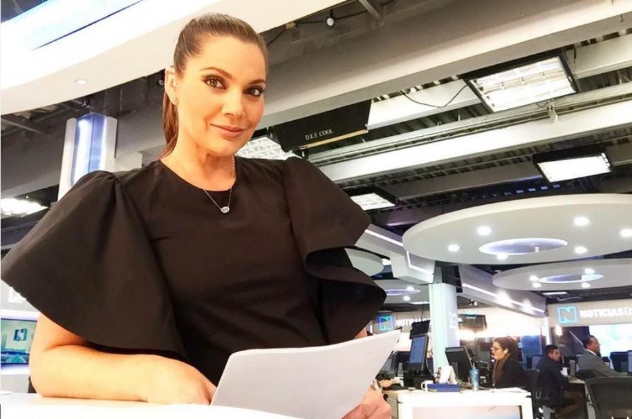 Jessica de la Peña, presentadora de Noticias RCN.