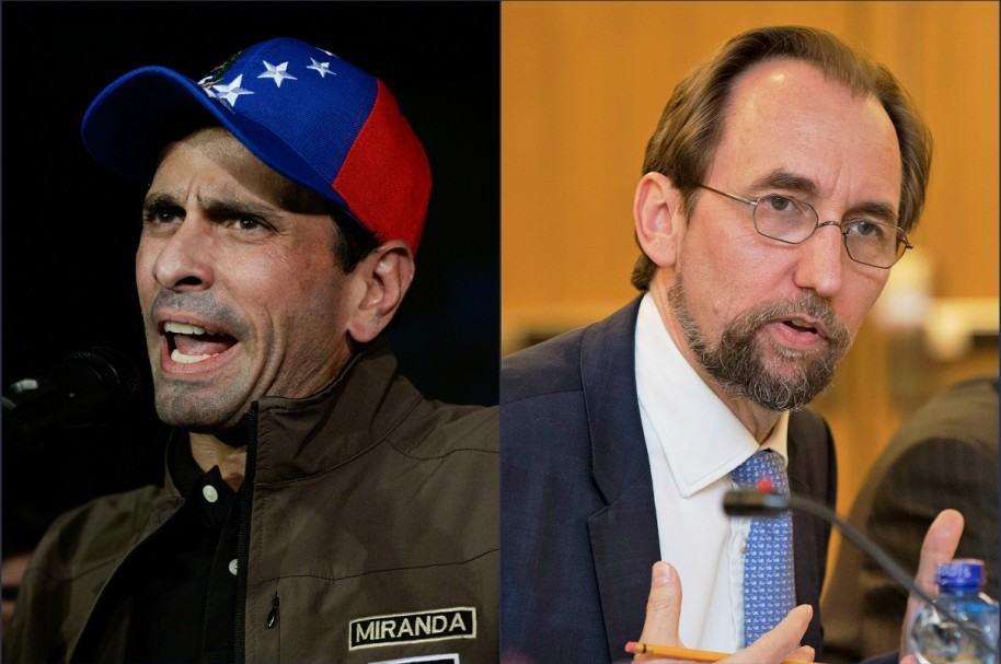 Capriles iba a viajar a la ONU