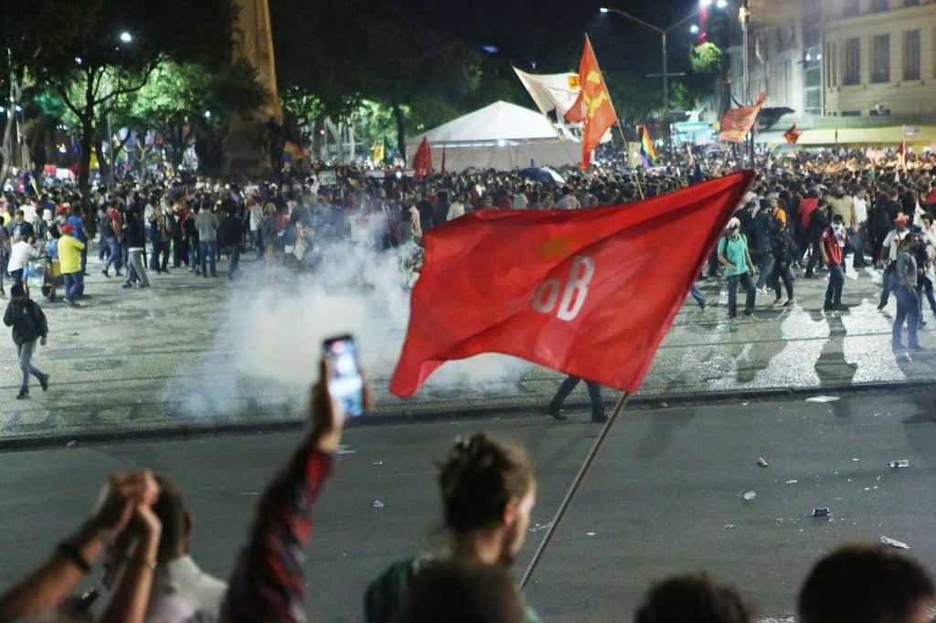 Furia en Río de Janeiro